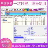 DiskGenius 磁盘分区管理及数据恢复软件