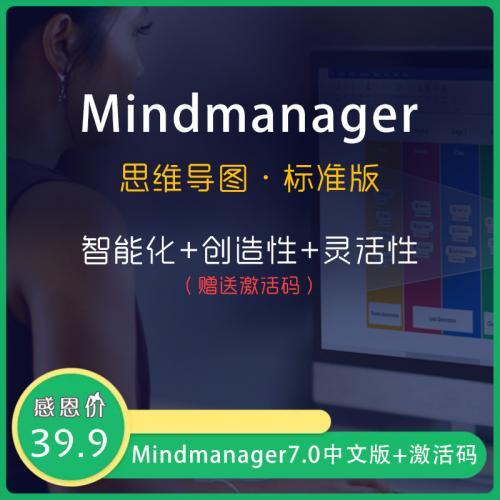 思维导图制作软件:Mindmanager中文版+激活码