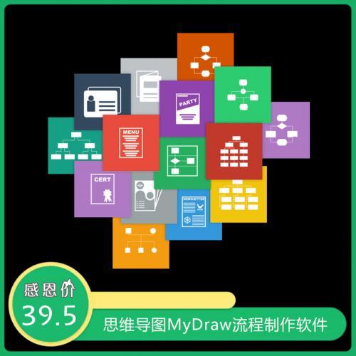 思维导图流程制作软件:MyDraw v4.3.0.0 免安装 注册版下载