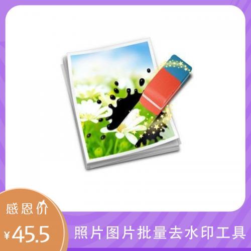 照片 图片 批量去水印工具:BatchInpaint序列号永久激活(高级版)
