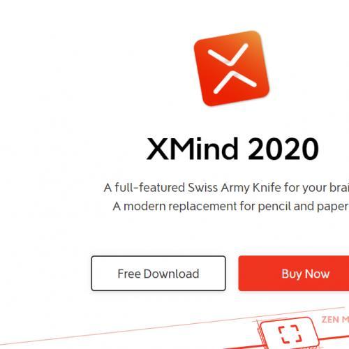 思维导图 Xmind Zen 2020 v10.0.0